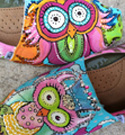 Custom Painted TOMS Owls Dream in Color