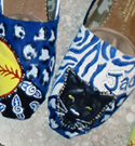 Custom Painted TOMS Panthers Sports Team