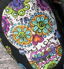 Custom Painted TOMS Day of the Dead Sugar Skulls