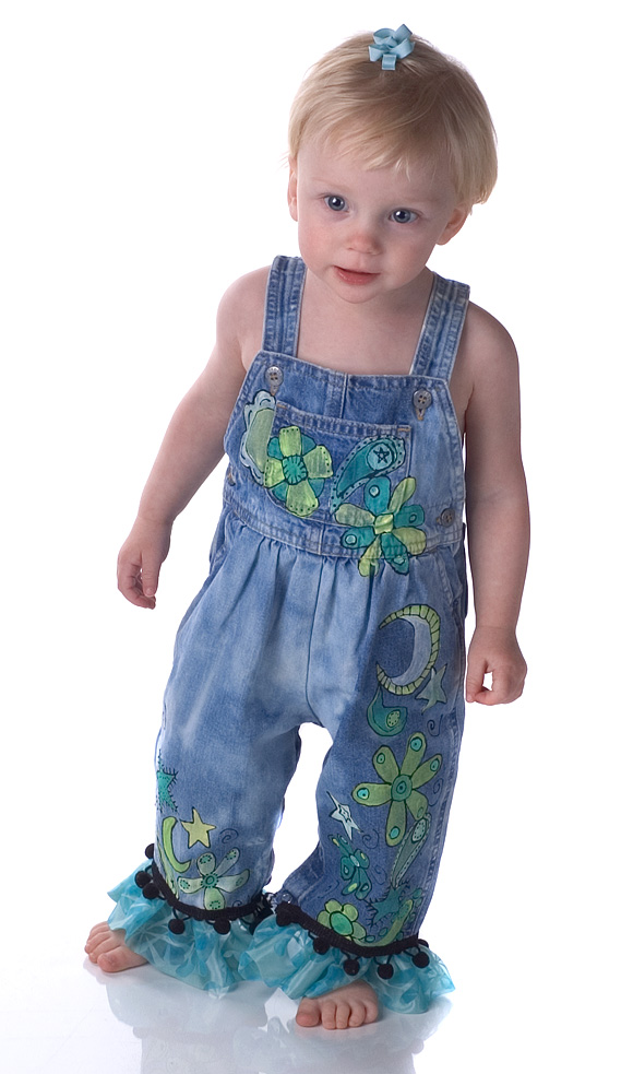 Custom Hand painted MoonDance overalls for Girls-hand painted custom boutique overalls, paisley painted overalls, painted overalls, oalls, pageant overalls, casual painted overalls, toddler painted clothing, toddler boutique