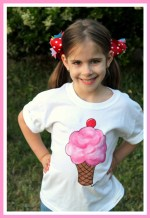 Hand Painted Sweet Shoppe Tee